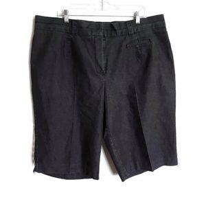 Bermuda shorts light black sz 22W
